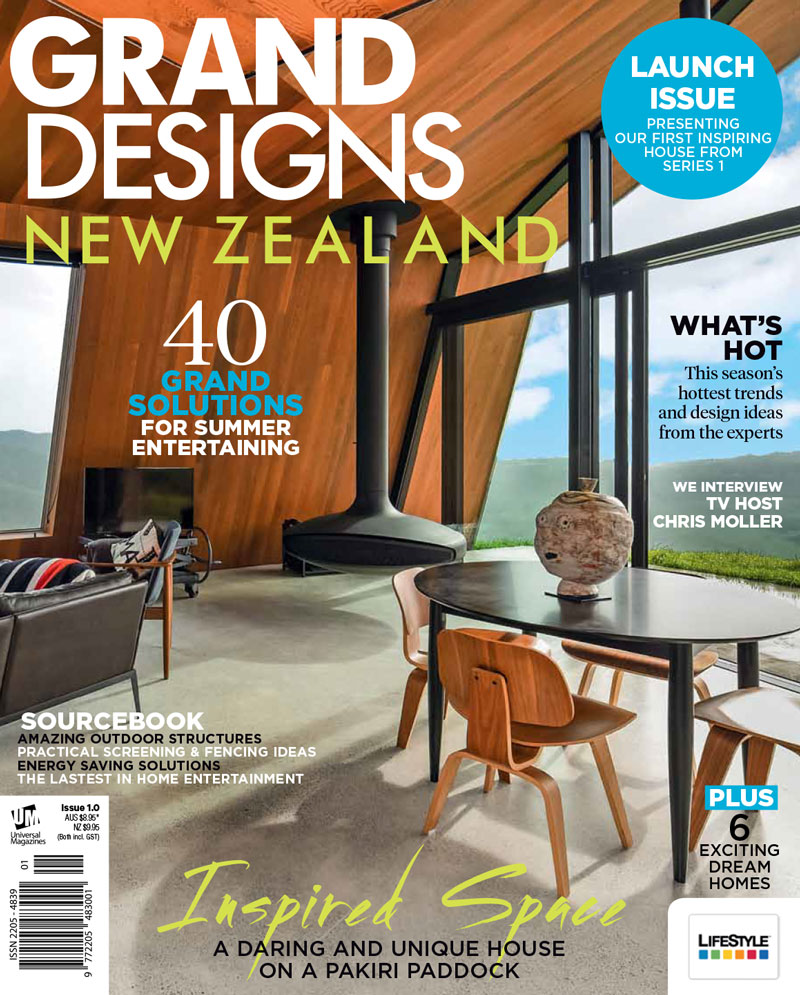 Grand Designs Magazine Launches In Nz